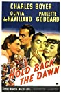 Hold Back the Dawn (1941) Poster