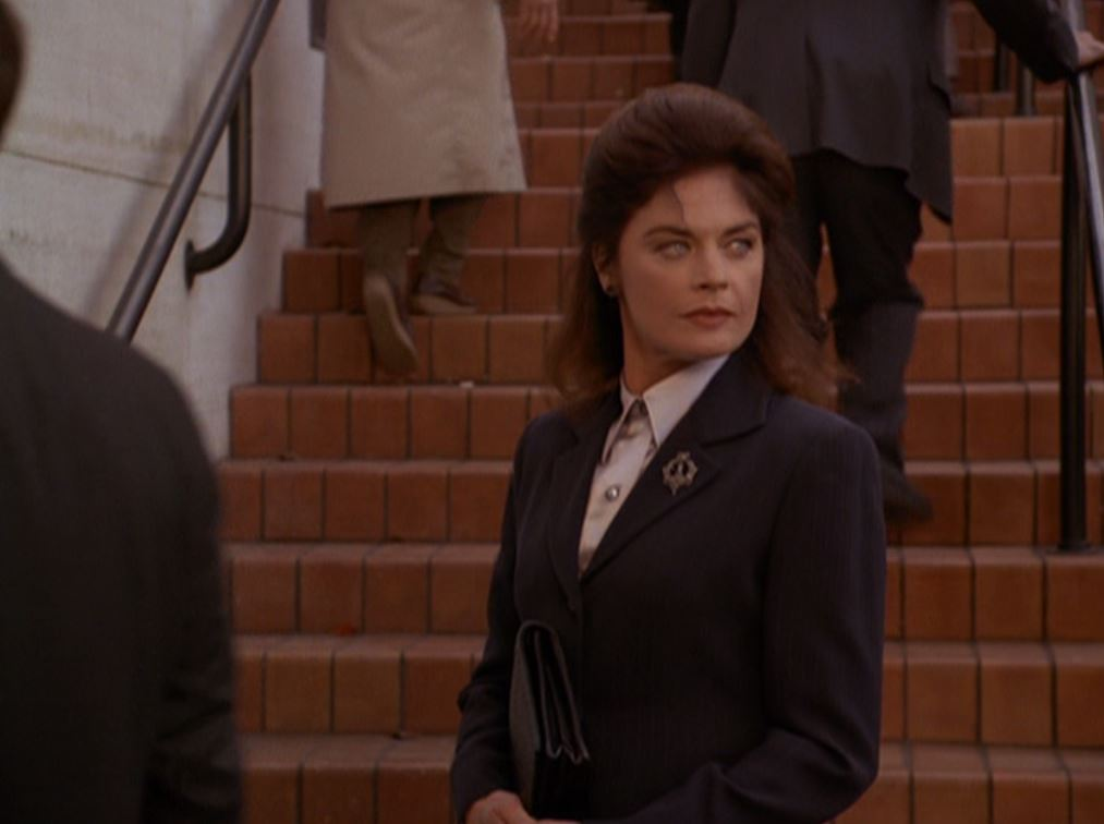 Meg Foster in Murder, She Wrote (1984)