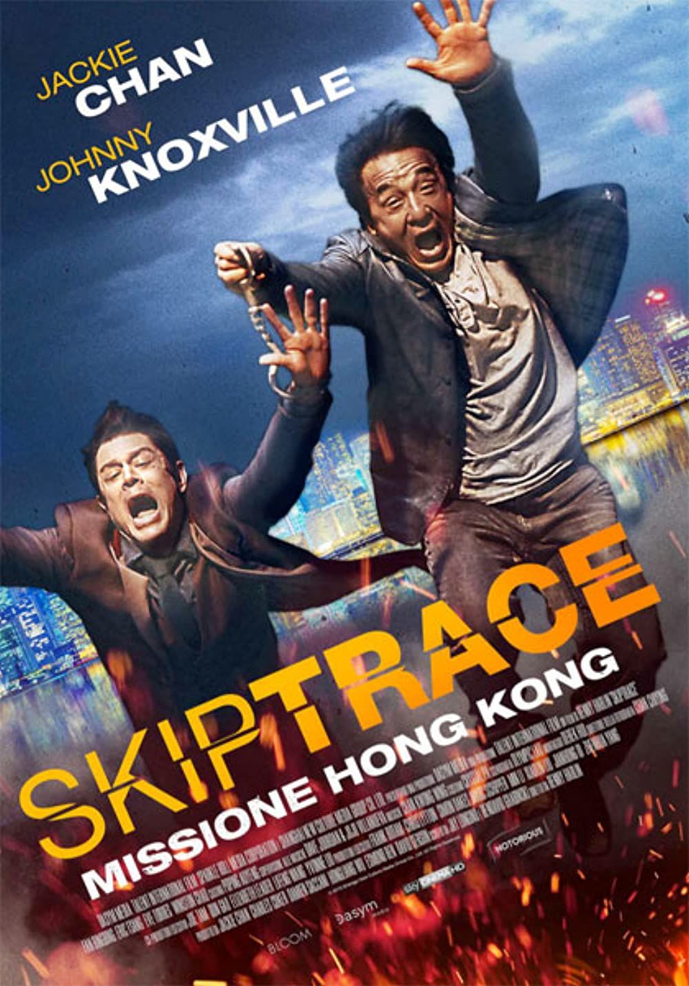 Poster film Skiptrace.