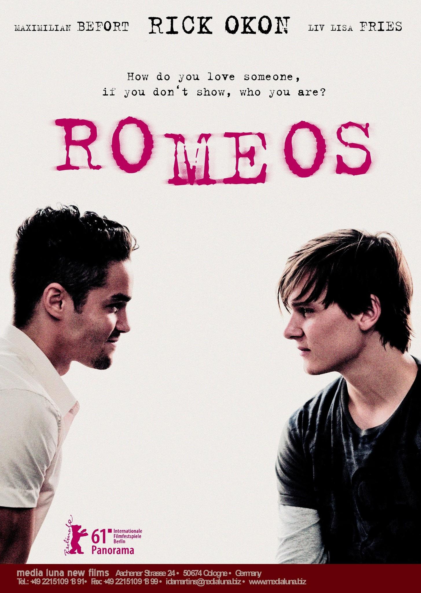 ROMEOS FILM GAY CAST