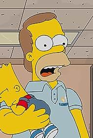 Nancy Cartwright and Dan Castellaneta in The Simpsons (1989)