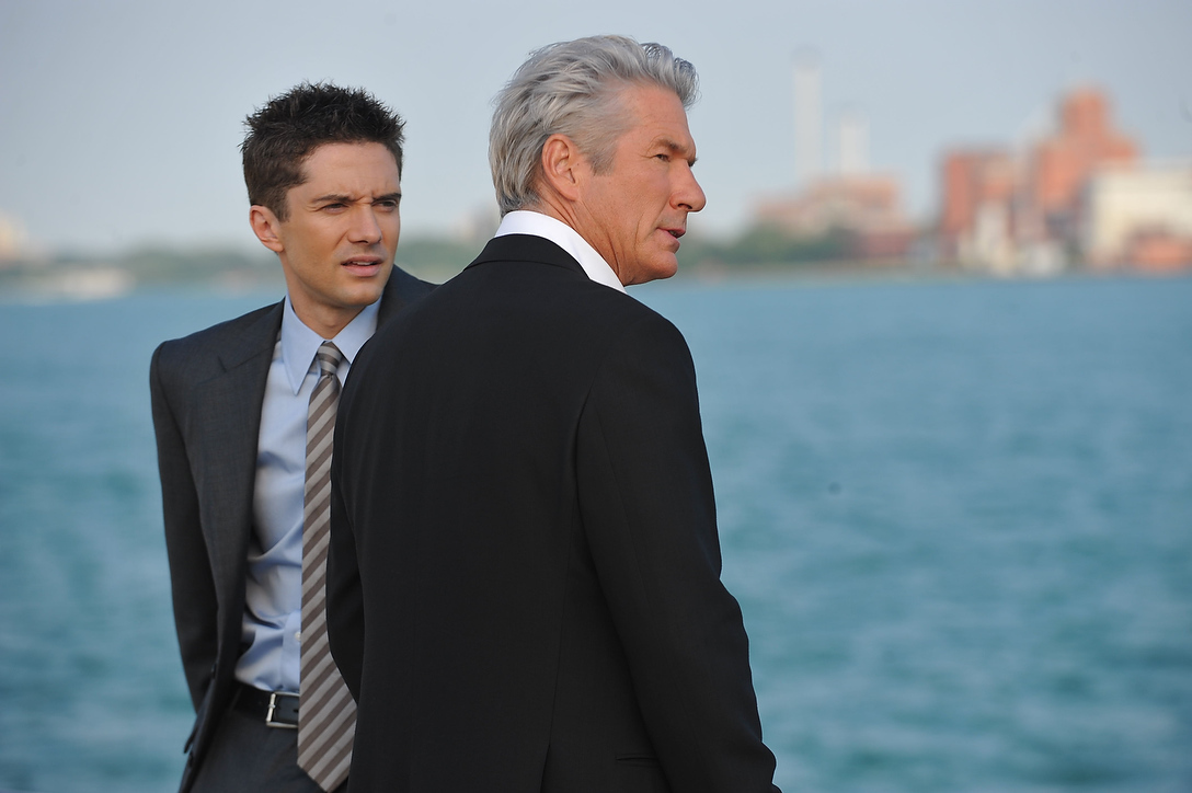 Richard Gere and Topher Grace in The Double (2011)