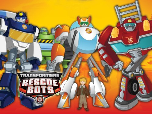 Transformers Rescue Bots Chief Woodrow TV Episode 2015