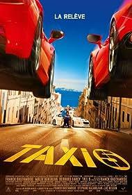 Bernard Farcy, Franck Gastambide, Malik Bentalha, and Anouar Toubali in Taxi 5 (2018)