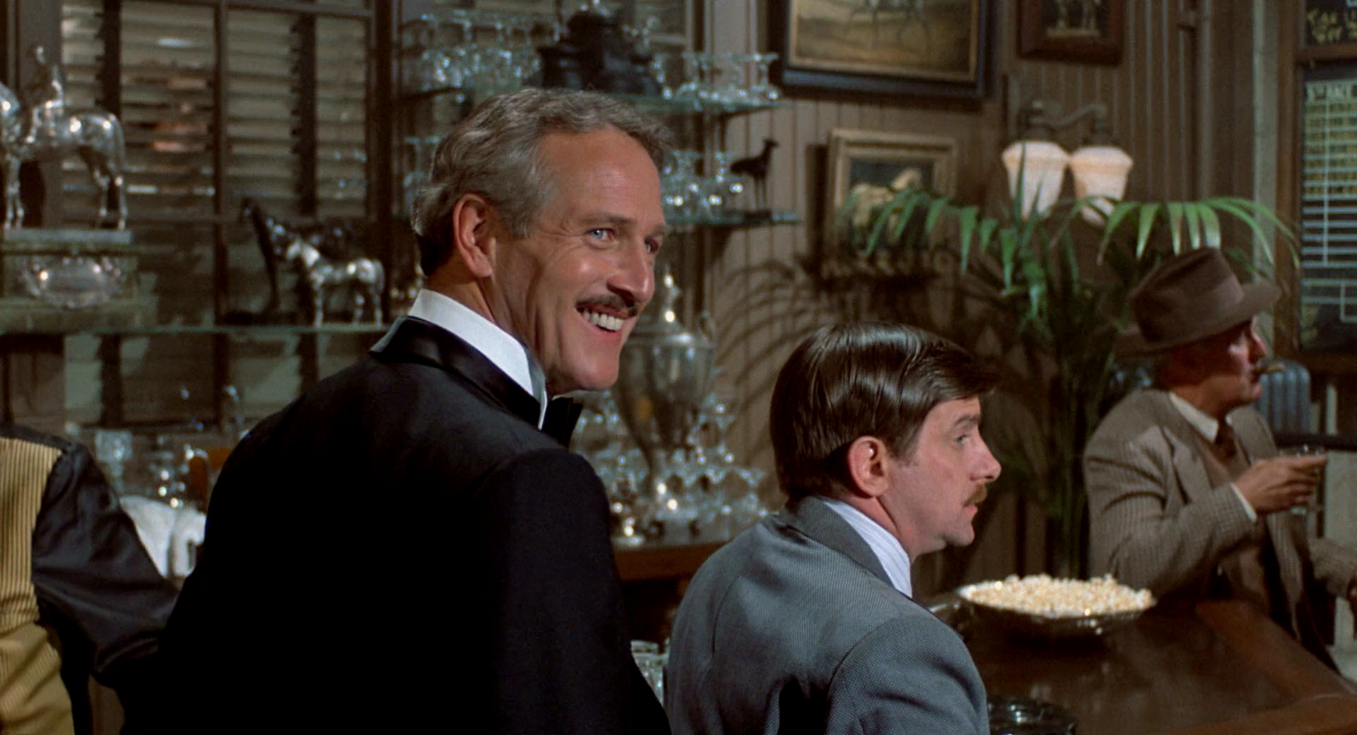 Paul Newman and Jack Kehoe in The Sting (1973)