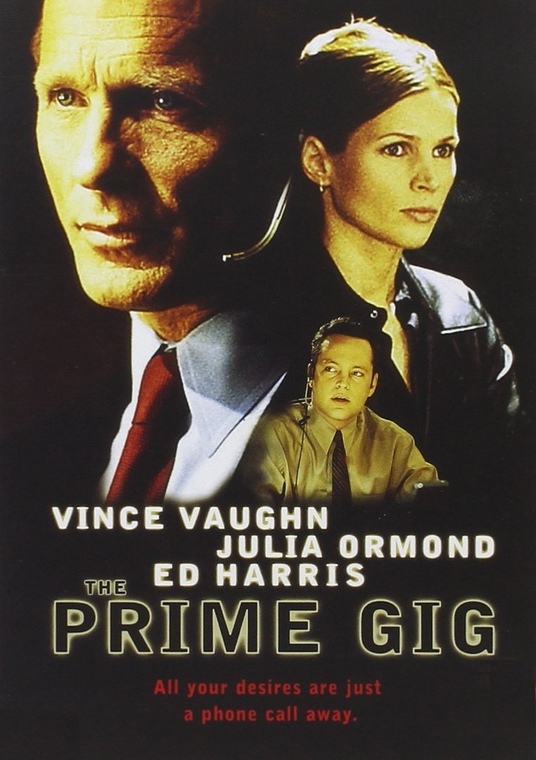 Ed Harris, Julia Ormond, and Vince Vaughn in The Prime Gig (2000)