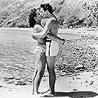 Elvis Presley and Joan Blackman in Blue Hawaii (1961)
