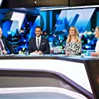 Peter Helliar, Fifi Box, Carrie Bickmore, and Waleed Aly in The 7PM Project (2009)