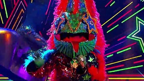 The Masked Singer: Chameleon Performs Ride Wit Me