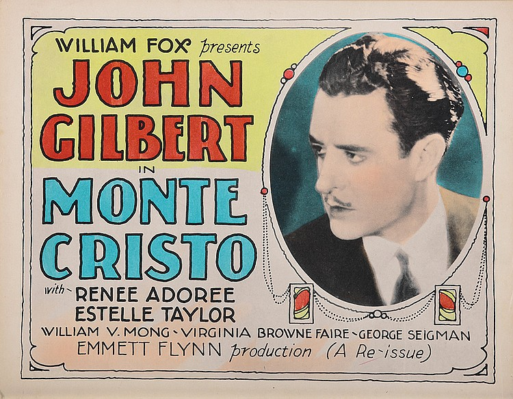 John Gilbert in Monte Cristo (1922)
