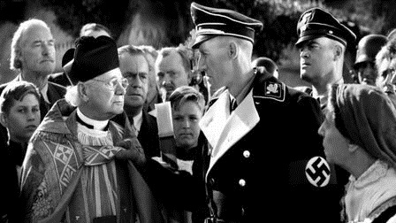John Carradine and Al Shean in Hitler's Madman (1943)