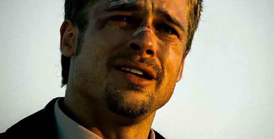 Brad Pitt in Se7en 1995