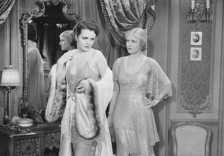Mary Astor and Ann Harding in Holiday (1930)