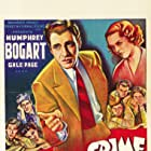 Humphrey Bogart, Gabriel Dell, Leo Gorcey, Huntz Hall, Billy Halop, Bobby Jordan, George Offerman Jr., Gale Page, Bernard Punsly, and The Dead End Kids in Crime School (1938)