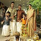 Prasanna, Chaya Singh, Raj Kiran, and Master Raghavan in Power Paandi (2017)