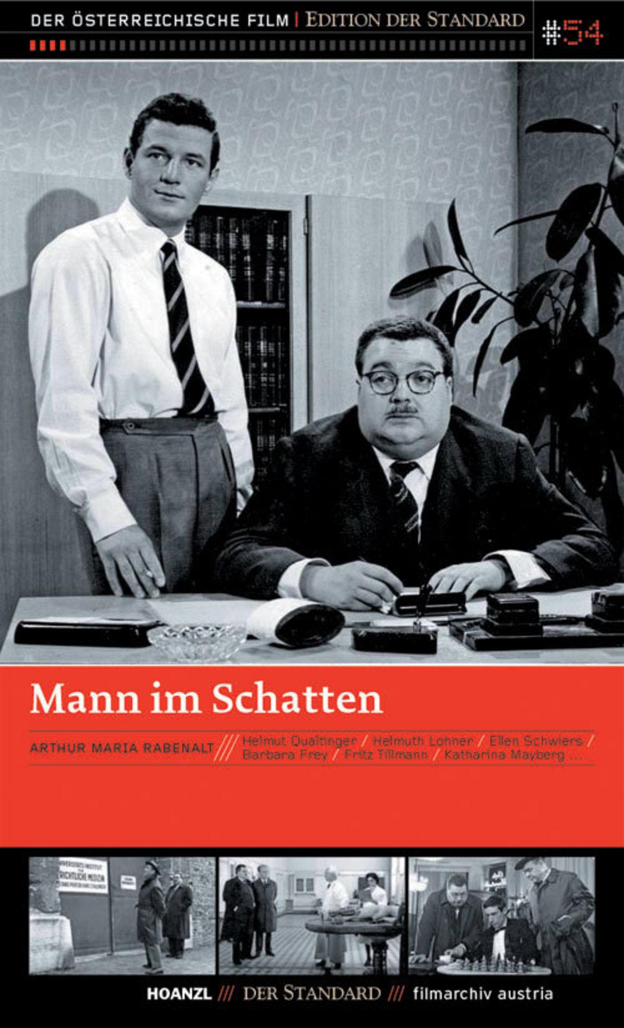 Peter Neusser and Helmut Qualtinger in Mann im Schatten (1961)