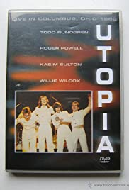Utopia Live in Columbus, Ohio 1980 Poster