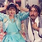 Sridevi and Shakti Kapoor in Chaalbaaz (1989)