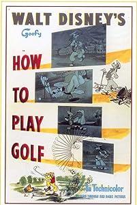 Web watching movie How to Play Golf [iPad]