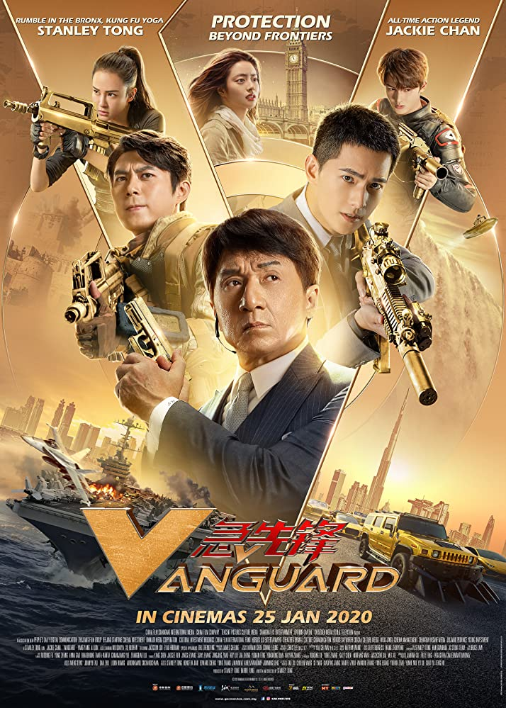 Download Vanguard 2020 Hindi ORG Dual Audio 720p BluRay ESubs 750MB