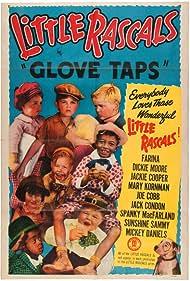Tommy Bond, Darla Hood, Sidney Kibrick, Eugene 'Porky' Lee, George 'Spanky' McFarland, Carl 'Alfalfa' Switzer, and Billie 'Buckwheat' Thomas in Glove Taps (1937)