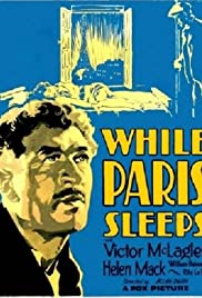 While Paris Sleeps Poster