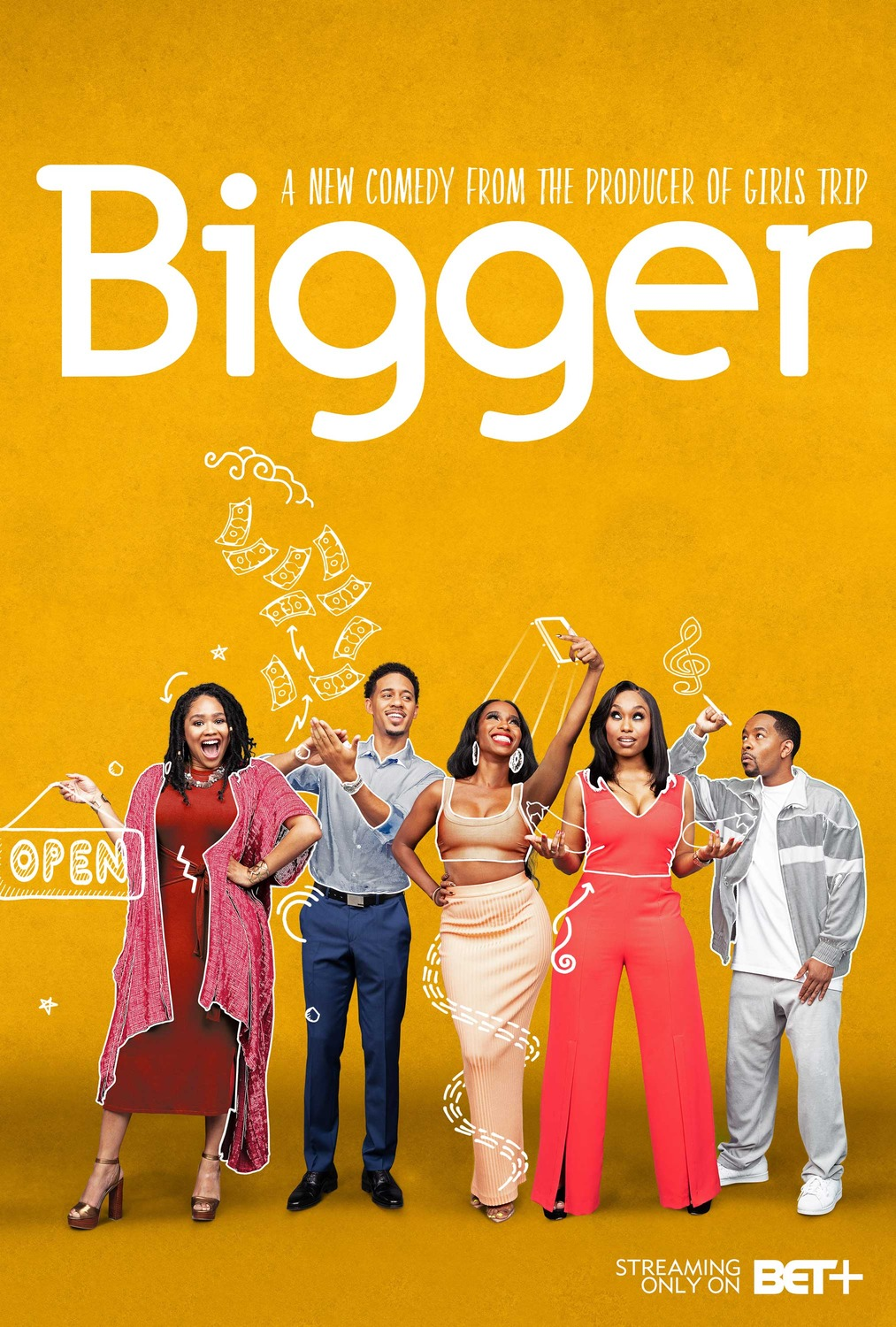 comedy series on bet
