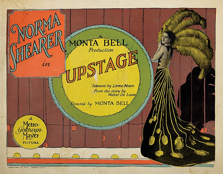 Norma Shearer in Upstage (1926)