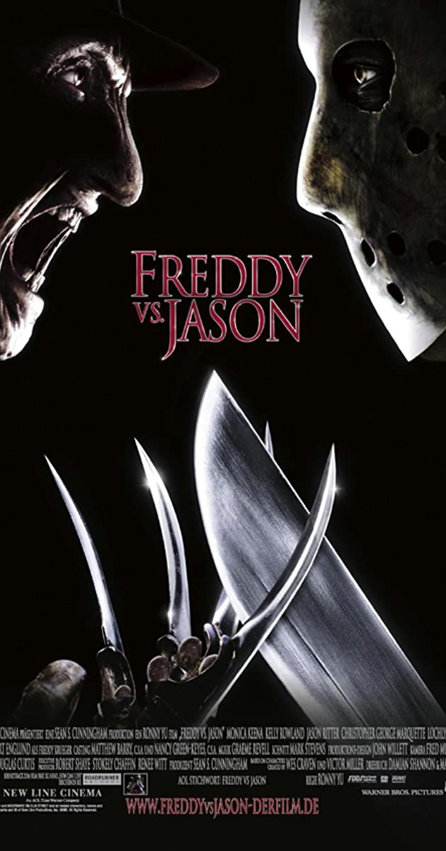 Freddy vs. Jason 2003 Movie poster