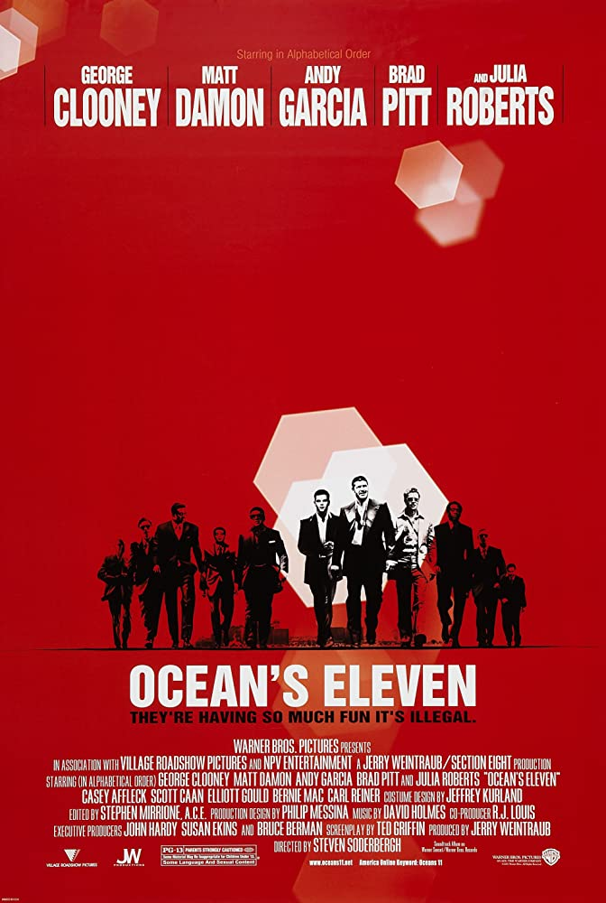 Ocean's Eleven (2001) Hindi Dubbed