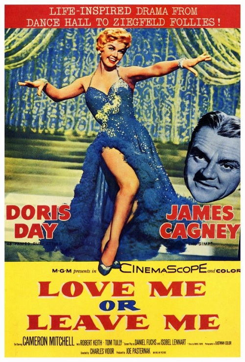 James Cagney and Doris Day in Love Me or Leave Me (1955)