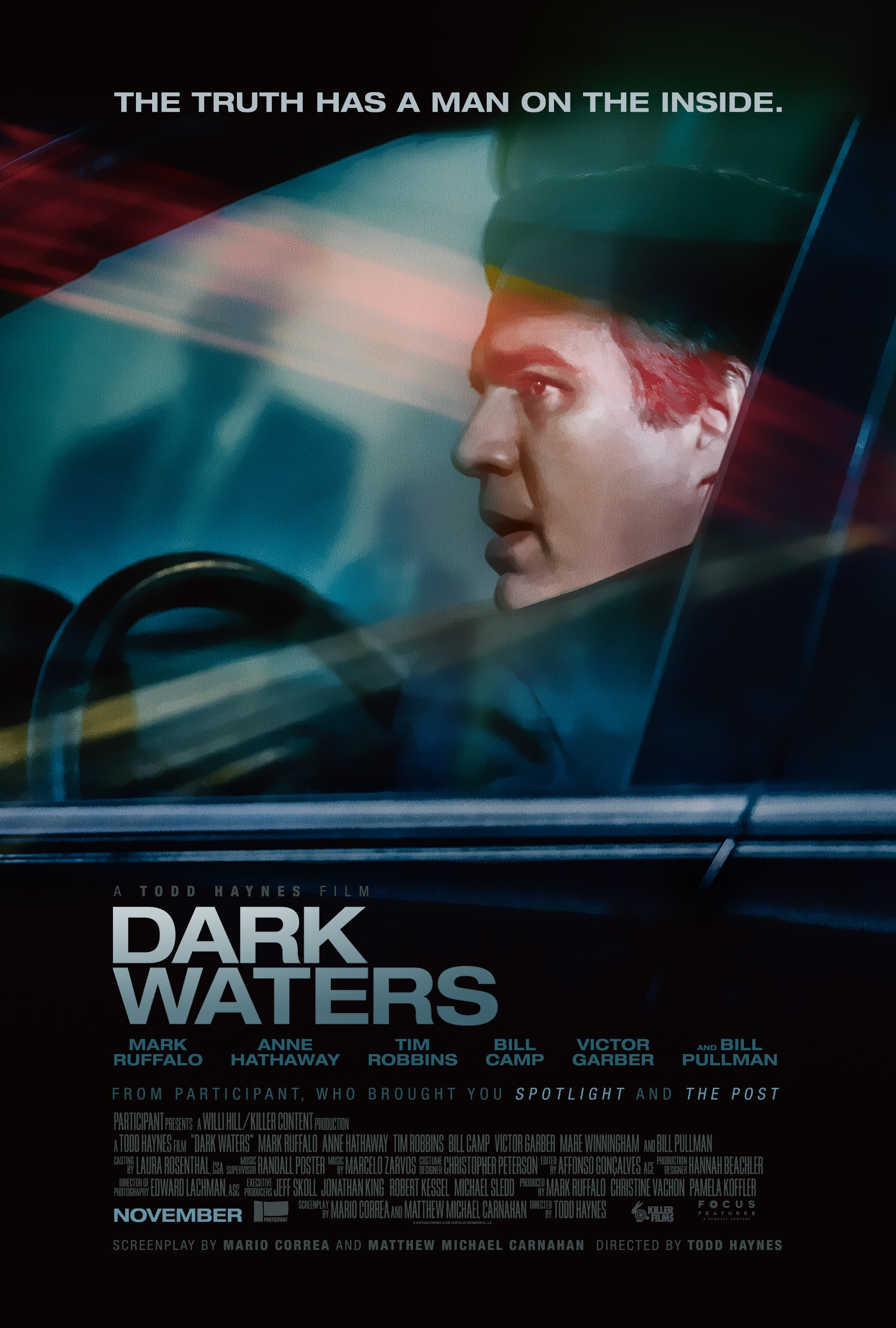 Image result for Dark waters movie poster