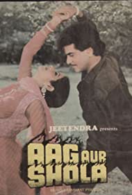 Sridevi and Jeetendra in Aag Aur Shola (1986)