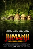 Jack Black, Kevin Hart, Dwayne Johnson, Mark Knapton, and Karen Gillan in Jumanji: Welcome to the Jungle (2017)