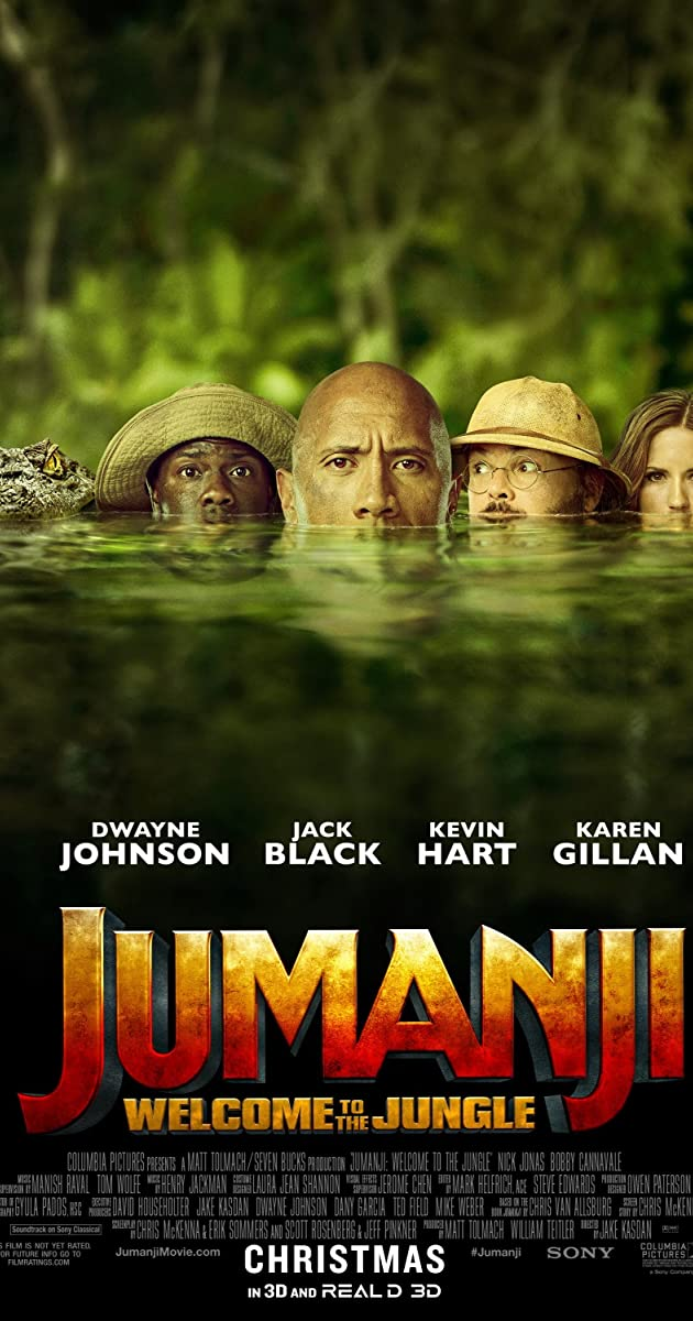 Watch Full HD Movie Jumanji: Welcome to the Jungle (2017)