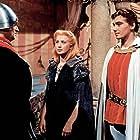 Martin Ruzek, Josef Zíma, and Marie Kyselková in Princezna se zlatou hvezdou (1959)