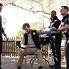 Peter Krause, Aisha Hinds, Brian Maillard, and Oliver Stark in 9-1-1 (2018)