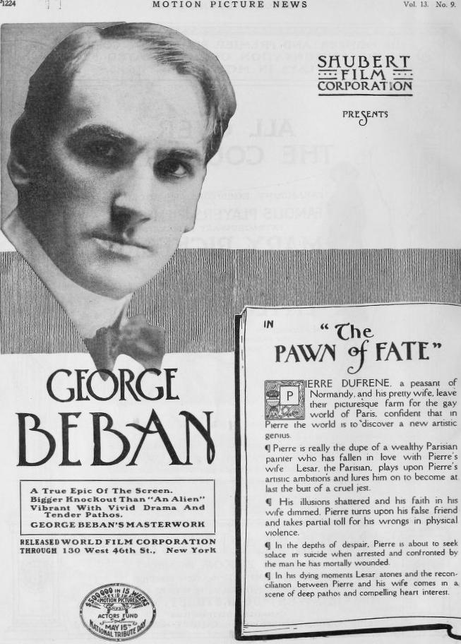 Pawn of Fate (1916) - IMDb