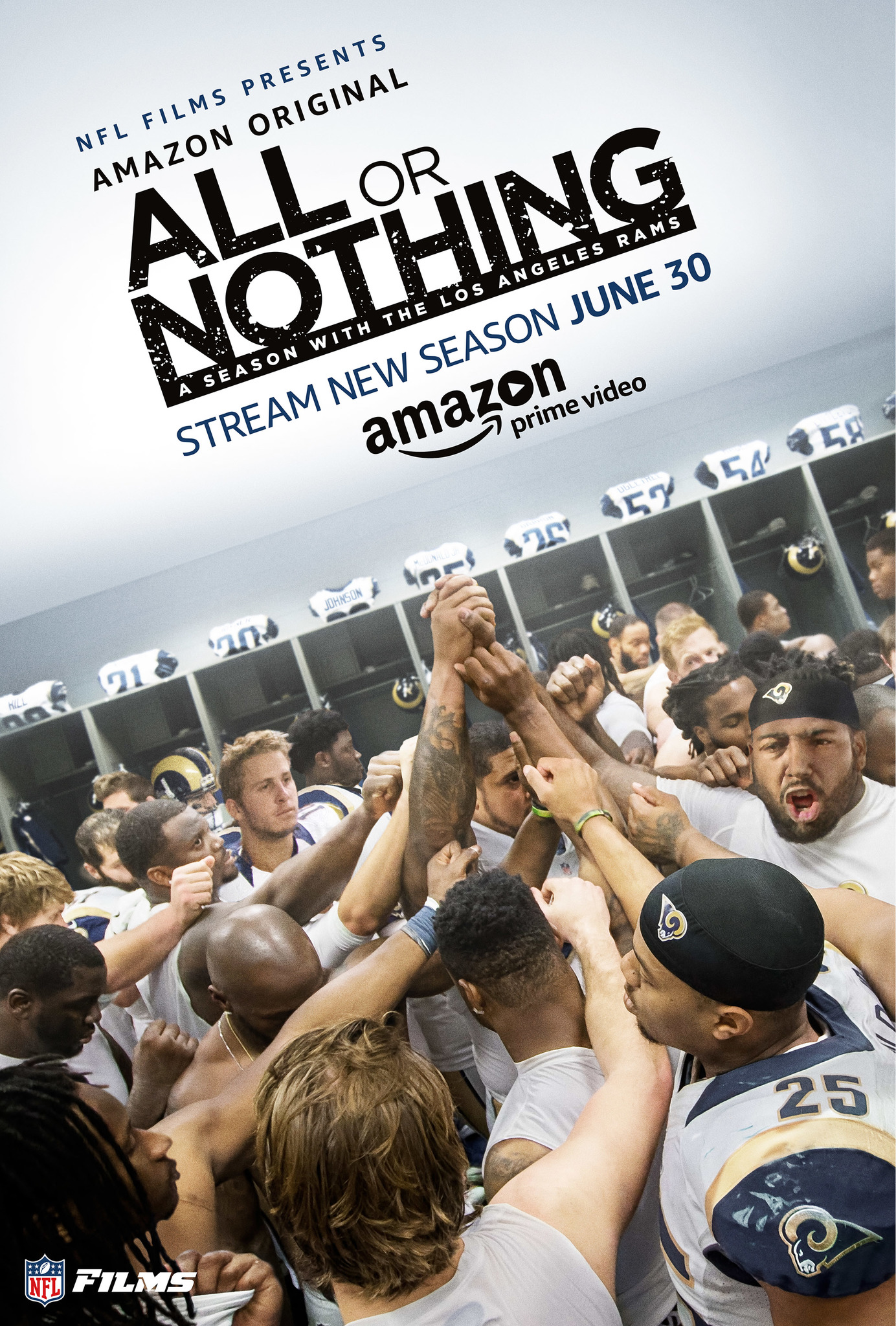 a9e80b6e267 All or Nothing  A Season with the Los Angeles Rams (TV Series 2017– ) - IMDb