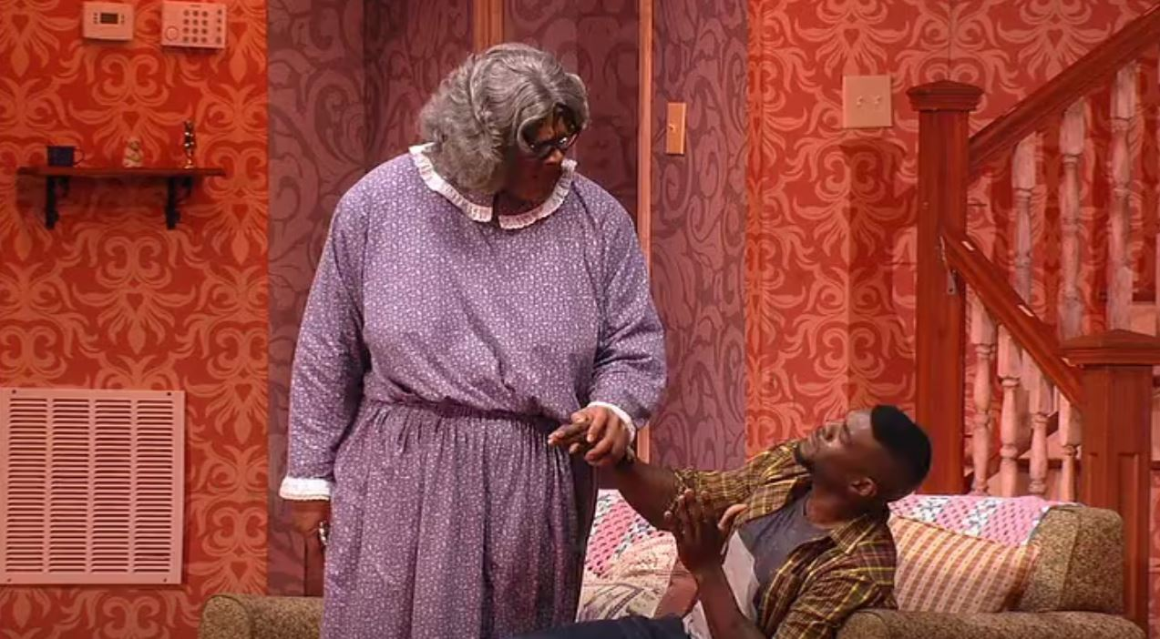 Tyler Perry in Tyler Perry's: Madea on the Run (2017)