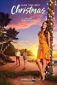 Lea Michele, Bryan Greenberg, and Charles Michael Davis in Same Time, Next Christmas (2019)