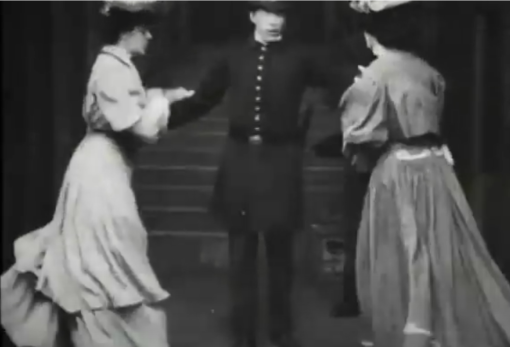 2 A.M. in the Subway (1905)
