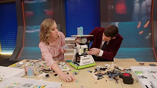 Lego Masters: Amy & Tyler Can't Get Their Head To Stay
