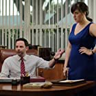 Nick Kroll and Allison Tolman in The House (2017)