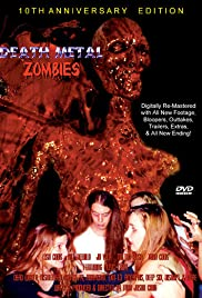 Death Metal Zombies Poster