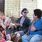 Still of Daniel Skelton, Jamie Kennedy, and Albert Minero in Bro, What Happened? (2014)