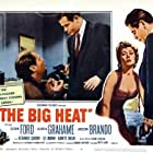 Glenn Ford, Gloria Grahame, and Adam Williams in The Big Heat (1953)