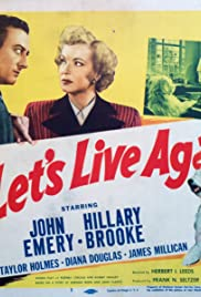 Let's Live Again Poster