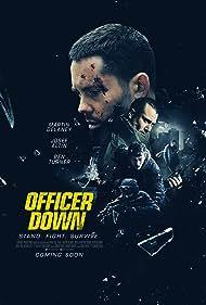 Martin Delaney, Josef Altin, Ben Turner, and Korey Ryan in Officer Down (2020)