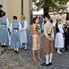 Marion Mitterhammer, Werner Prinz, Ioana Iacob, David Zimmerschied, and Axel Moustache in Der geköpfte Hahn (2007)